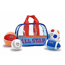 Плюшевые мячики Melissa & Doug