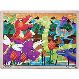Фото 1 к товару Пазл «Динозавры» Melissa & Doug
