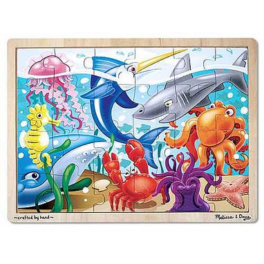 Пазл «Морская жизнь» Melissa & Doug