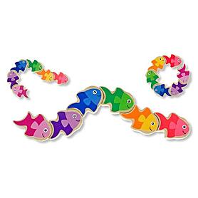 Фото 1 к товару Головоломка «Рыбки» Melissa & Doug