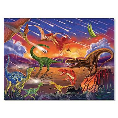 Пазл «Конец эры динозавров» Melissa & Doug