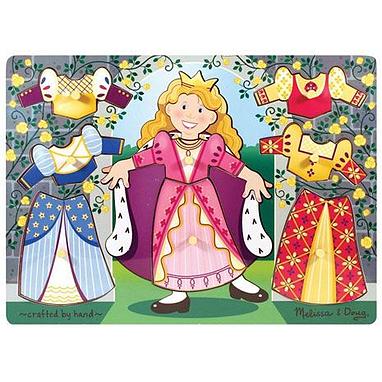 Рамка – вкладыш «Одень принцессу» Melissa & Doug