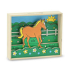 Объемная раскраска «Лошадь» Melissa & Doug - фото 1