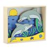 Объемная раскраска «Дельфины» Melissa & Doug - фото 1