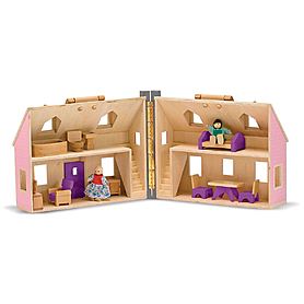 Фото 2 к товару Кукольный домик Melissa & Doug