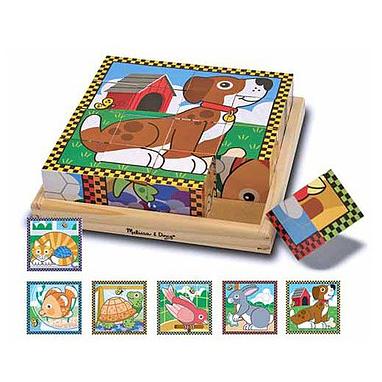 Набор кубиков «Домашние животные» Melissa & Doug