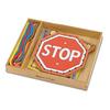 Шнуровка «Дорожные знаки» Melissa & Doug - фото 1