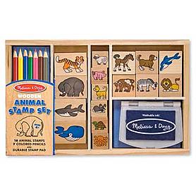 Набор штампов «Животные» Melissa & Doug