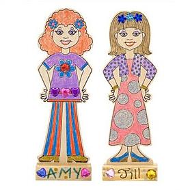 Набор «Кукла – модница» Melissa & Doug