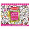Розовый набор стикеров Melissa & Doug - фото 1