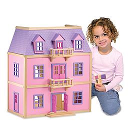 Многоэтажный кукольный домик Melissa & Doug
