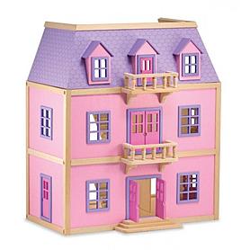 Фото 2 к товару Многоэтажный кукольный домик Melissa & Doug