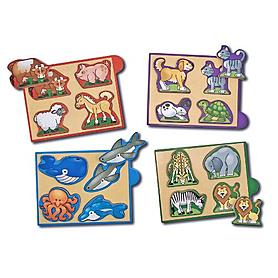 Набор пазлов «Животные» Melissa & Doug