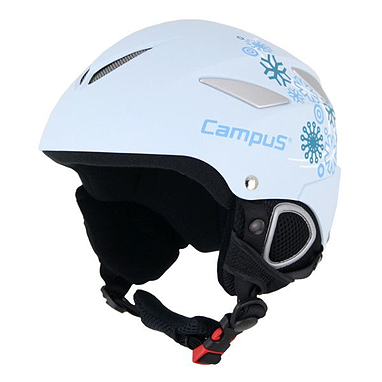 Шлем детский горнолыжный белый Campus Cerka