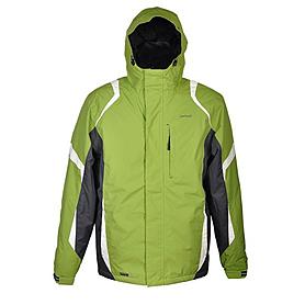 Куртка горнолыжная Campus Lancaster зелено-черно-белая