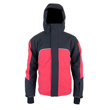 Куртка горнолыжная Сampus Newbee красно-черно-белый
