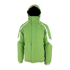 Куртка горнолыжная Campus Rockland зелено-белая