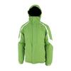 Куртка горнолыжная Campus Rockland зелено-белая - фото 1