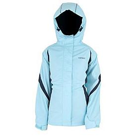 Куртка горнолыжная детская Campus Izaro junior голубой-графитовый