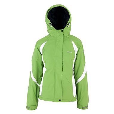 Куртка горнолыжная детская Campus Izaro junior зелено-белая