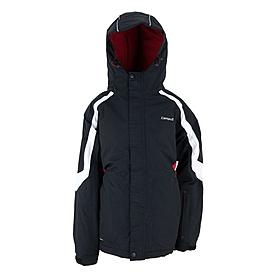 Куртка горнолыжная детская Campus Rockland junior черно-красно-белая