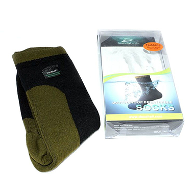 Носки водонепроницаемые высокие Dexshell Trekking DS8836