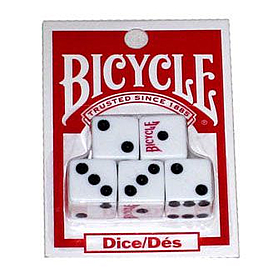 Фото 1 к товару Кости игральные Bicycle Экспедиция