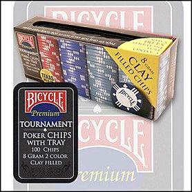 Фото 2 к товару Фишки для покера Bicycle Экспедиция