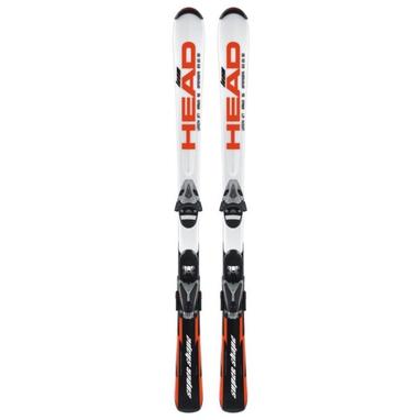 Лыжи горные детские Head Supershape Team 77 см + крепления SL45