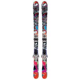 Лыжи горные детские Head Mojo JR 87 см + крепления SL45