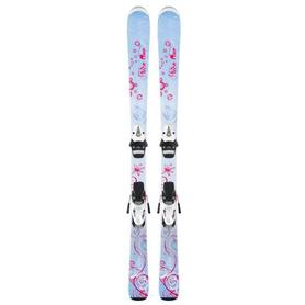 Лыжи горные детские Head nice one 67 см + крепления SL45