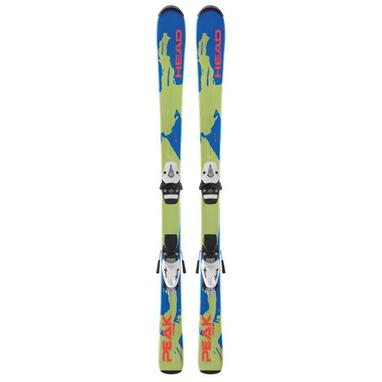 Лыжи горные детские Head Peak Team 107 см + крепления SL45