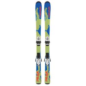 Фото 1 к товару Лыжи горные детские Head Peak Team 77 см + крепления SL45