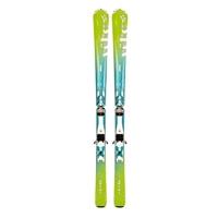Лыжи горные Volkl Estrella green 144 см + крепления 3Motion 10.0
