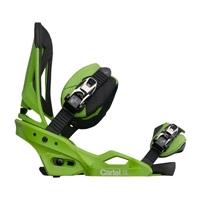 Крепления для сноуборда Burton Cartel EST'12 toxic green