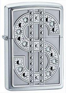 Зажигалка 250 Zippo Bling Emblem