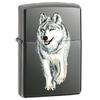 Зажигалка 150 Zippo Wolf Black Ice - фото 1