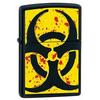 Зажигалка Zippo 218 Hazardous black matte - фото 1