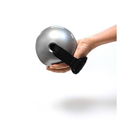 Фото 2 к товару Мячи-утяжелители для фитнеса 2 шт по 1,5 фунта Toning ball