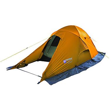 Палатка двухместная Terra incognita Baltora 2 оранжевая