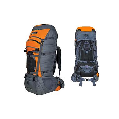 Рюкзак туристический Terra Incognita Concept 60 Pro Lite оранжево-серый