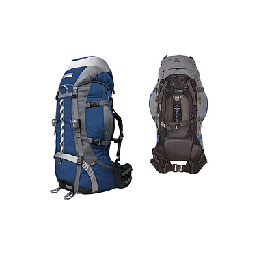 Рюкзак туристический Terra Incognita Vertex Pro 100 сине-серый