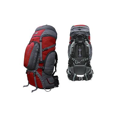 Рюкзак туристический Terra Incognita Discover Pro 70 красно-серый