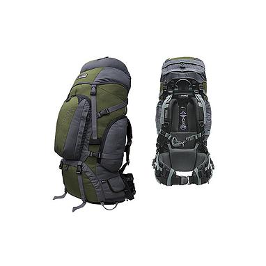Рюкзак туристический Terra Incognita Discover Pro 85 зелено-серый