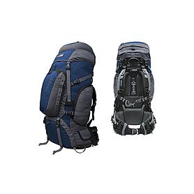 Фото 1 к товару Рюкзак туристический Terra Incognita Discover Pro 85 сине-серый