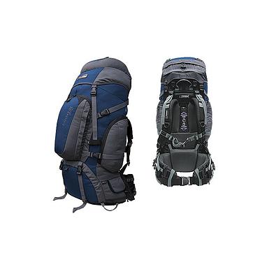 Рюкзак туристический Terra Incognita Discover Pro 85 сине-серый