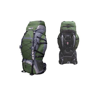 Рюкзак трекинговый Terra Incognita Trial Pro 75 зелено-серый