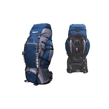 Рюкзак треккинговый Terra Incognita Trial Pro 90 сине-серый