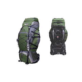Рюкзак треккинговый Terra Incognita Trial Pro 90 зелено-серый