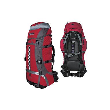Рюкзак туристический Terra Incognita Vertex 80 красно-серый